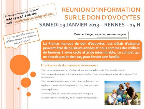 AFFICHE RÉUNION D'INFORMATION
