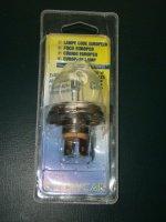 lampe code europeen 40/45W 2€