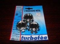 bouchons metal 1€