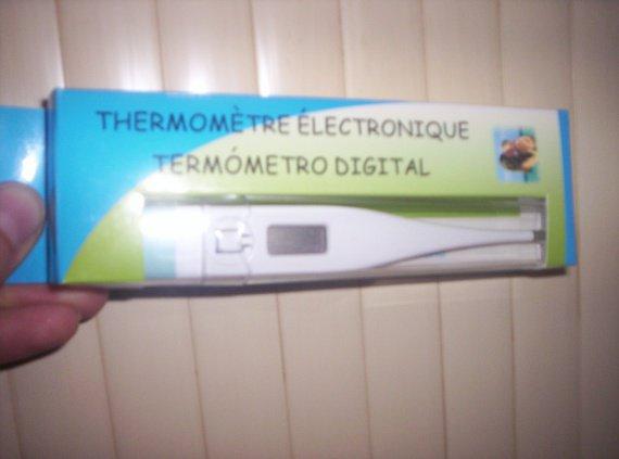thermometre electronique NEUF 5€