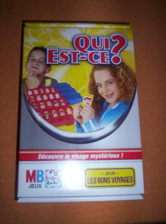 jeu QUI EST CE de voyage 5€