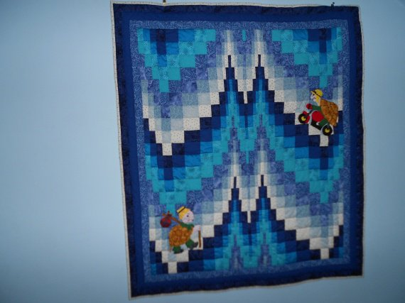 Les tortues (Bargello patchwork)