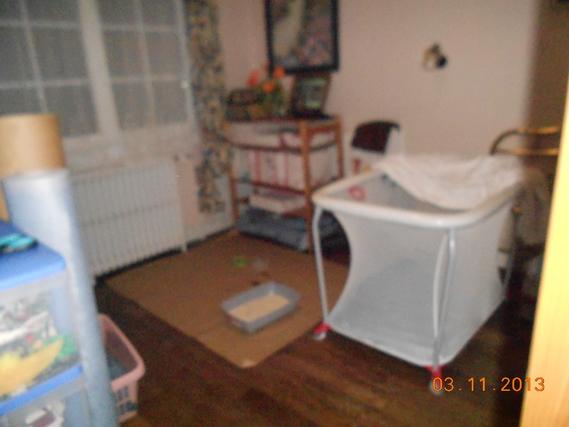 La chambre ou est installé Gus 2