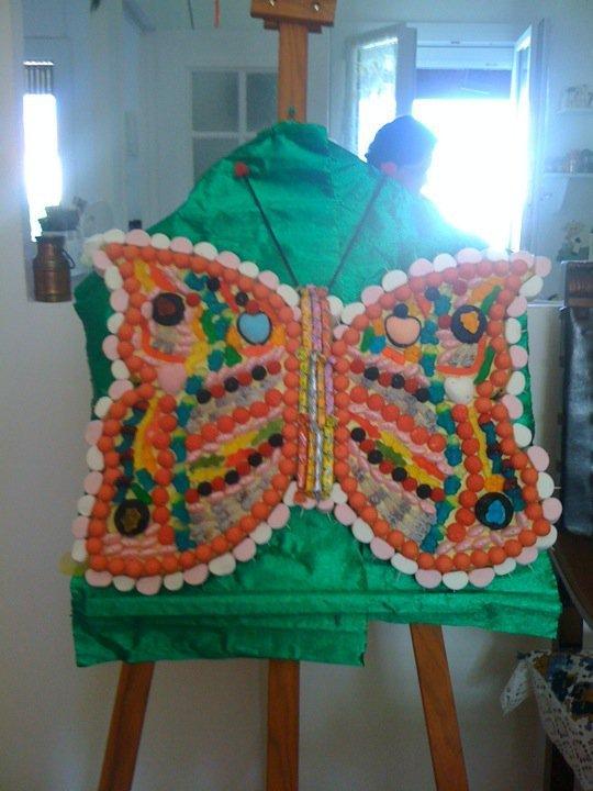 papillon de bonbon annif ma puce 7ans