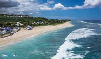 sable fin et eaux turquoises