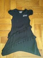GUESS robe fille noire 8 ans volants 20€