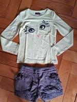 CATIMINI ensemble short et tshirt 6/8 ans 12€