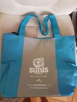 Grand sac bleu gris 2€