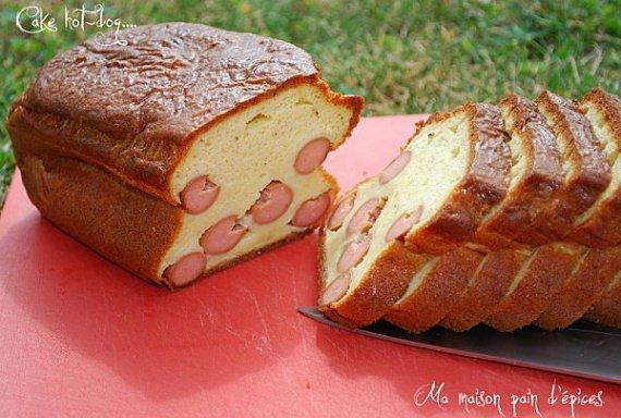 Le cake hot-dog de Sophie Dudemaine
