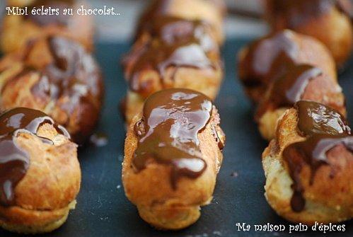 Mini-eclairs-au-chocolat_MaisonPaindEpice