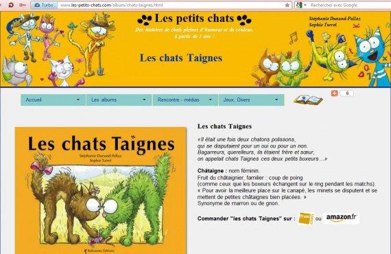 LesChatsTaignes_livres