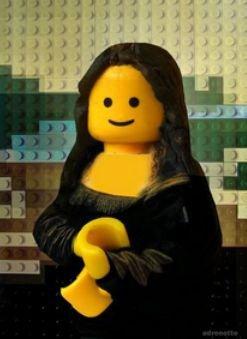 LaJoconde_Lego