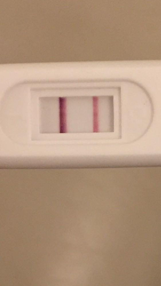 test ovulation positif