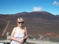 au volcan de la Réunion