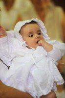 avec ma jolie robe de baptème