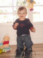 Maxence et ses petites chaussures