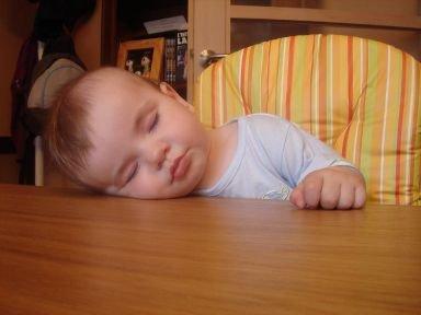 Maxence très très fatigué
