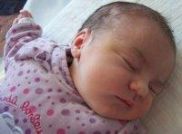Mayleen le 9 mai à 15 heures née à 8h47