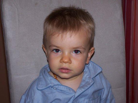 Maxence et son beau pyjama