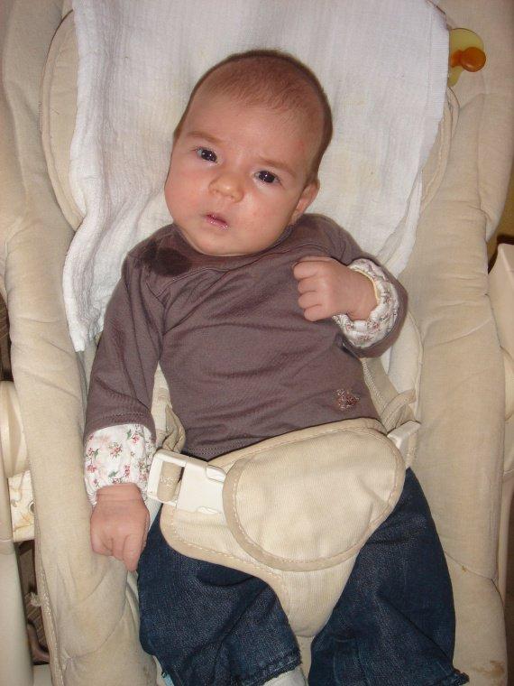 Mayleen  à 1 mois