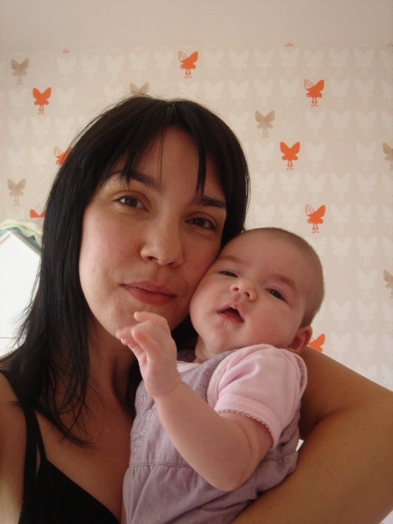 Aurélie une maman comblée