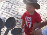 Maxence le cow-boy!!!