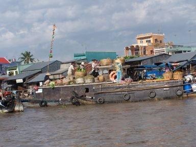 marché flottant Hanoï