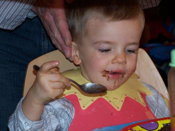 Humm!!!!!c'est bon le chocolat