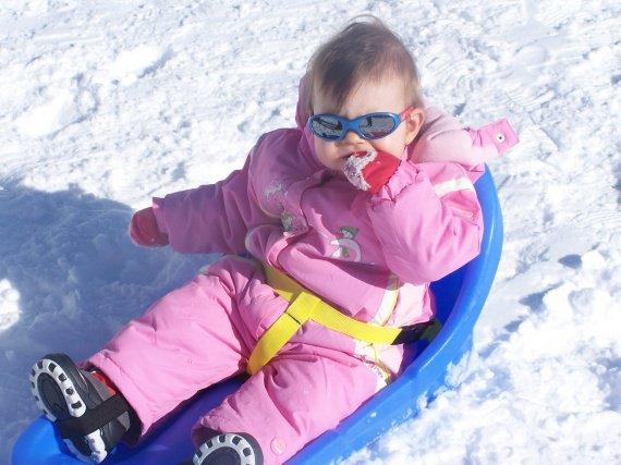 humm!!!c'est bon la neige