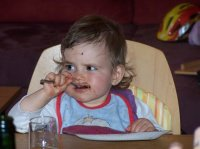 hummm!!!!c'est bon le chocolat!!!