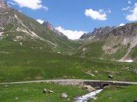 la route du Col du Lautaret