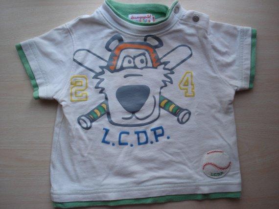 T.Shirt MC. La Cie des Petits.BE. 1,50€