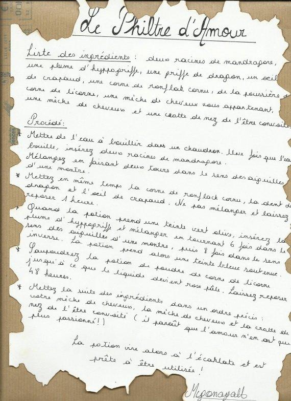Recette philtre d 39 amour philtre d 39 amour vi0lain3 photos club doctissimo - Philtre d amour recette ...