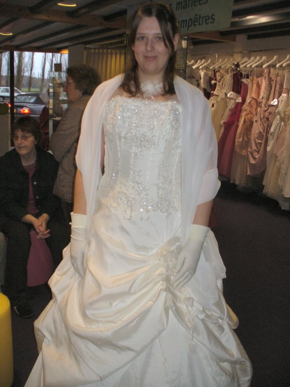 Essayage de THE robe 1