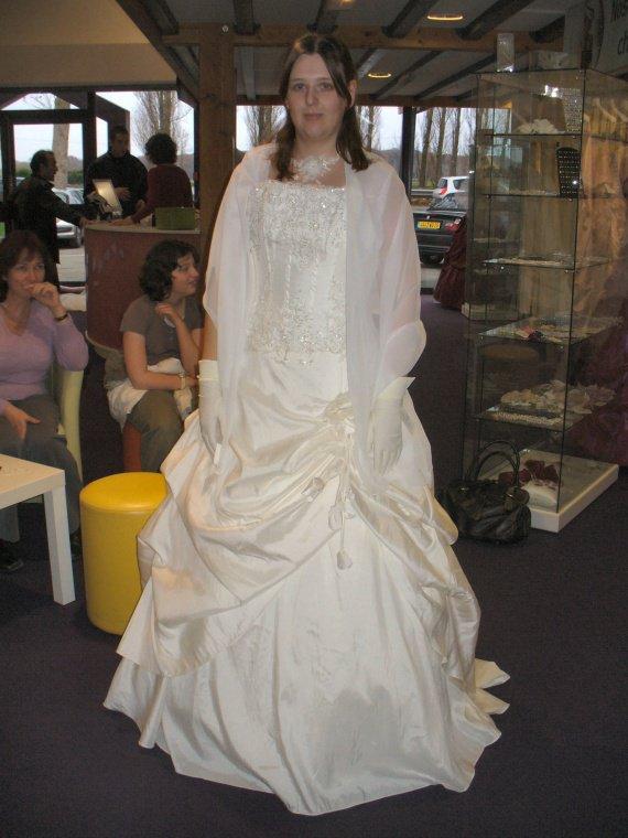 Essayage de THE robe 2