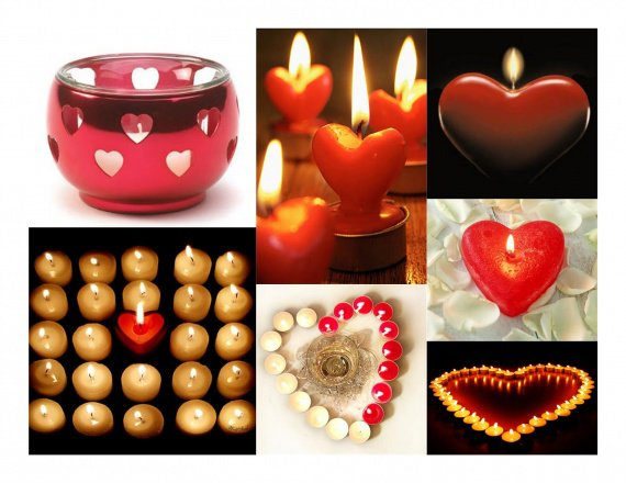 41 - Coeurs Bougies