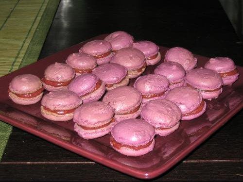macarons a la figue -chocolat blanc 001