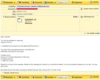 E-mail suspect