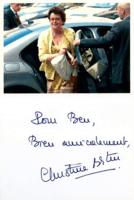 Autographe Christine B.