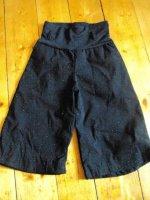 jupe culotte noir à paillette 2ans