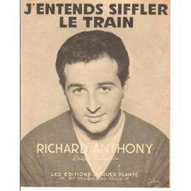 j-entends-siffler-le-train-richard-anthony-chant-piano-1962-partition-et-songbook-849414868_ML