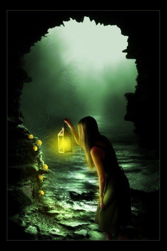 jf de dos avec lanterne