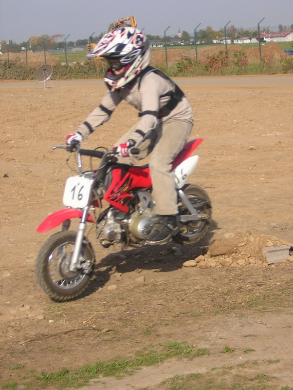 kilian avec sa moto