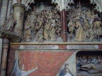 Sculpture 2 dans la cathédrale d'Amiens