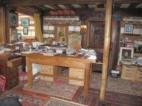 Le bureau de l''Abbé Pierre (offert en cadeau au Père André-Marie)