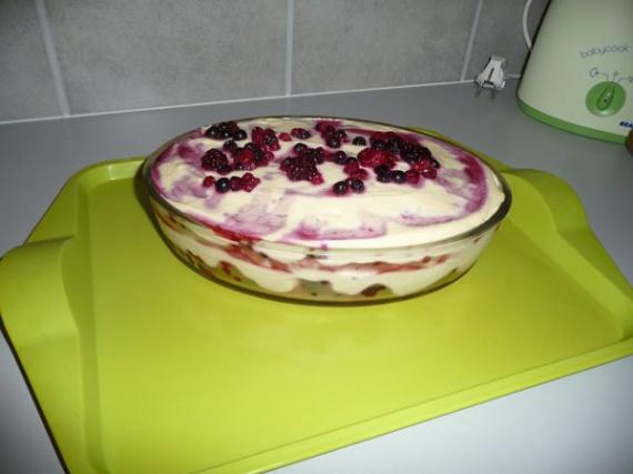 Tiramisu fruits rouges 1