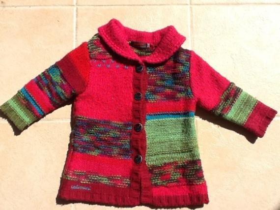 superbe gilet manteau laine catimini 2 ans 25 euros