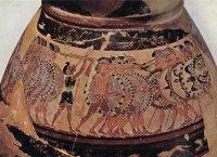 olpe-chigi-details-protocorinthien-moyen-recent