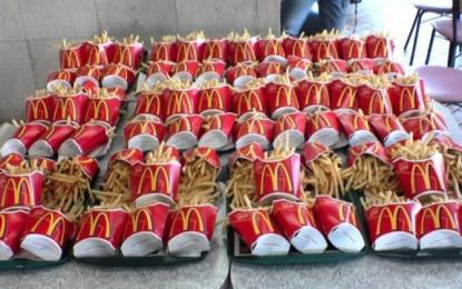 Une commande de frites au Japon