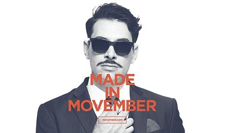 Movember - contre le cancer, tous unis !